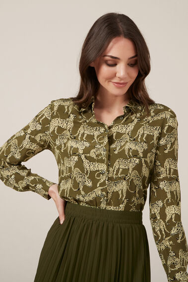ANIMAL KHAKI SHIRT  KHAKI  hi-res