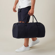 CANVAS DUFFLE BAG  MARINE BLUE  hi-res