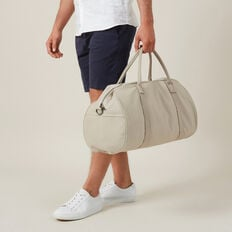 CANVAS DUFFLE BAG  TOBACCO  hi-res