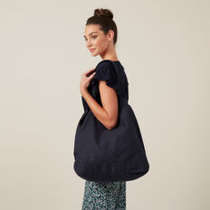 CANVAS TOTE BAG  MARINE BLUE  hi-res