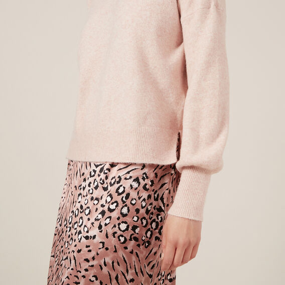 FULL SLEEVE KNIT  BLUSH  hi-res