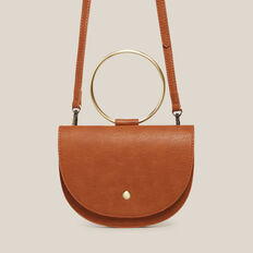 HALF MOON MINI BAG  TAN  hi-res