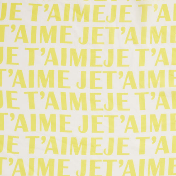 JET'AIME NECKERCHIEF  WHITE/YELLOW  hi-res
