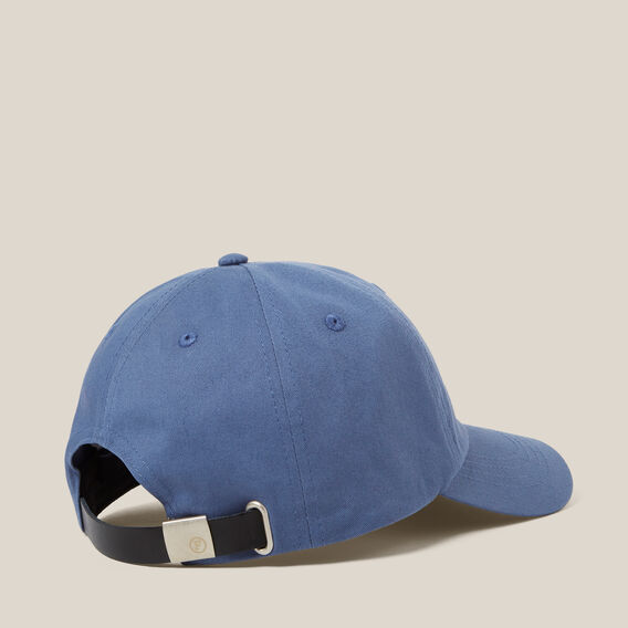 WASHED SOFT CAP  BLUE SHADOW  hi-res