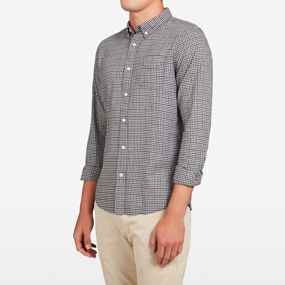 ADVENTURE GINGHAM REGULAR FIT SHIRT  GREY/OLIVE  hi-res