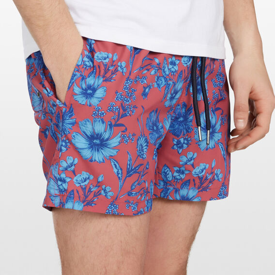 FLORAL SWIM SHORT  MELON  hi-res