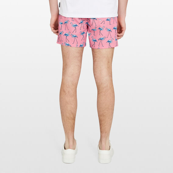 BLUE FLAMINGO SWIM SHORT  LIGHT PINK  hi-res