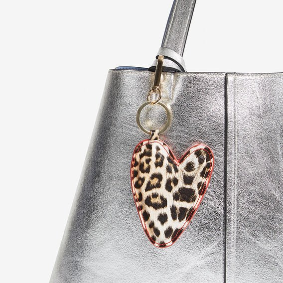 ANIMAL HEART KEYRING  MULTI  hi-res