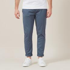 REGULAR FIT STRETCH CHINO PANT  SLATE BLUE  hi-res