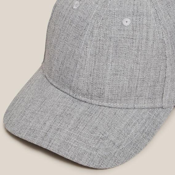 GREY TEXTURED CAP  GREY  hi-res