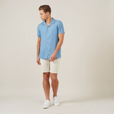 CHAMBRAY S/S CLASSIC FIT SHIRT  CHAMBRAY  hi-res