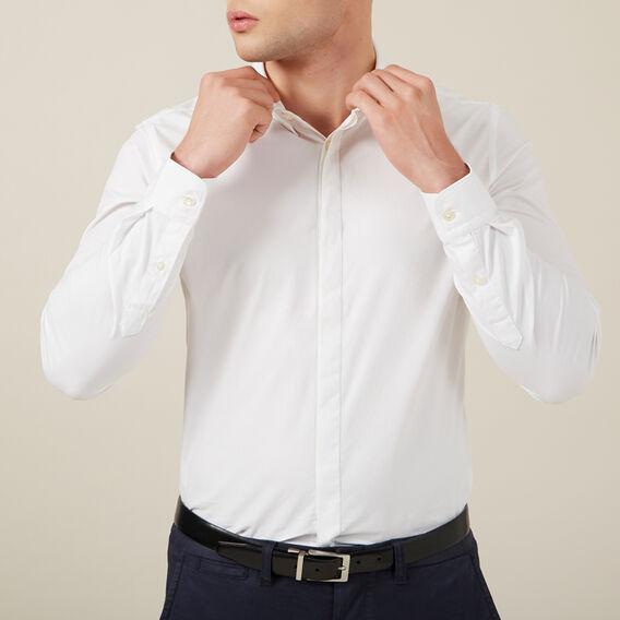 FORMAL CUSTOM FIT SHIRT  WHITE  hi-res