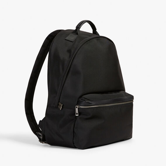 ESSENTIAL CANVAS BACKPACK  BLACK  hi-res