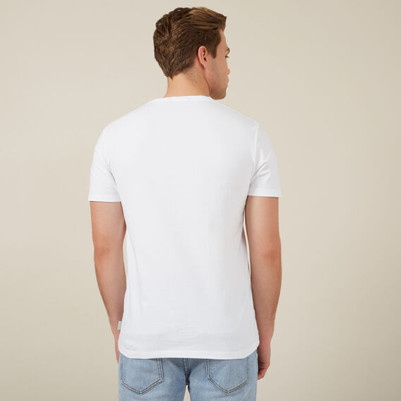 HIPSTER CHEETAH T-SHIRT  WHITE  hi-res