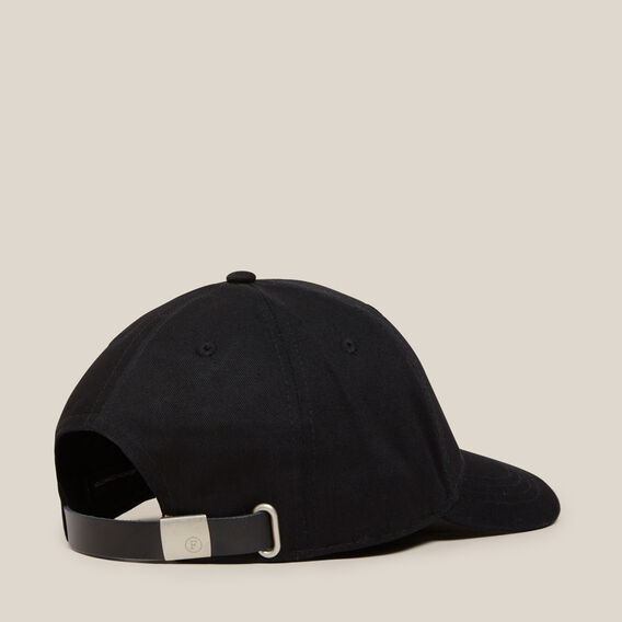FCUK EMBROIDERED CAP  BLACK  hi-res