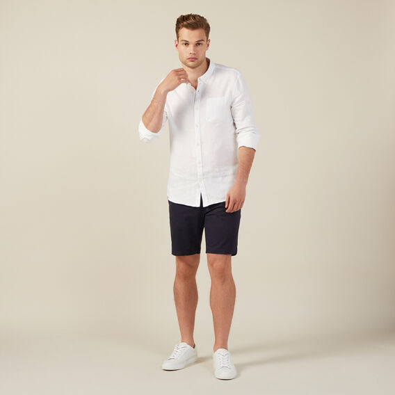 SLIM-FIT STRETCH CHINO SHORT  MIDNIGHT  hi-res