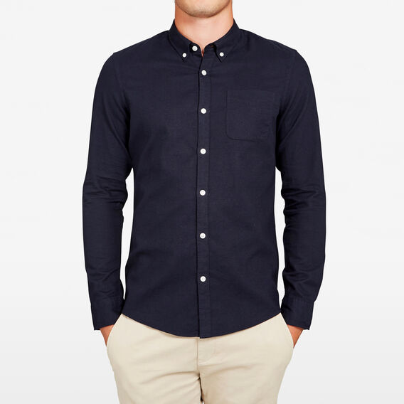 OXFORD CUSTOM FIT SHIRT  OXFORD BLUE  hi-res