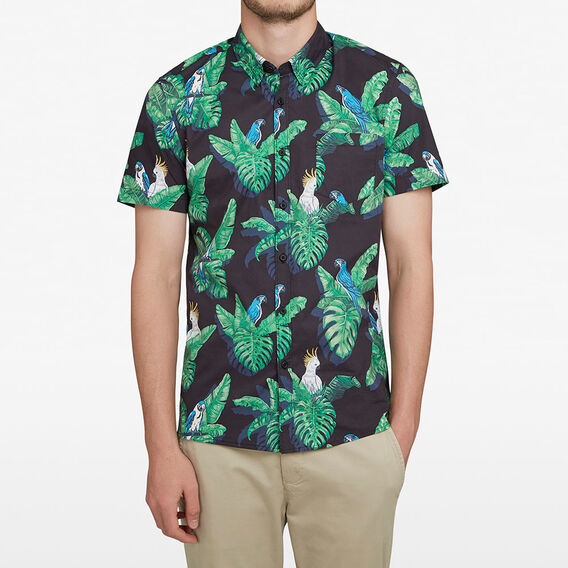 TROPICAL PARROT CLASSIC FIT SHIRT  MULTI  hi-res