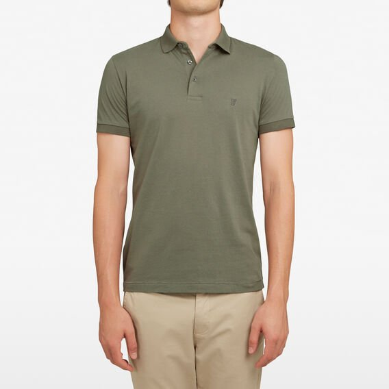 CLASSIC POLO  DUSTY GREEN  hi-res