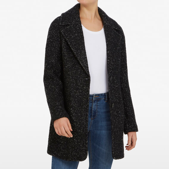 BLACK SPECKLE COAT  BLACK  hi-res