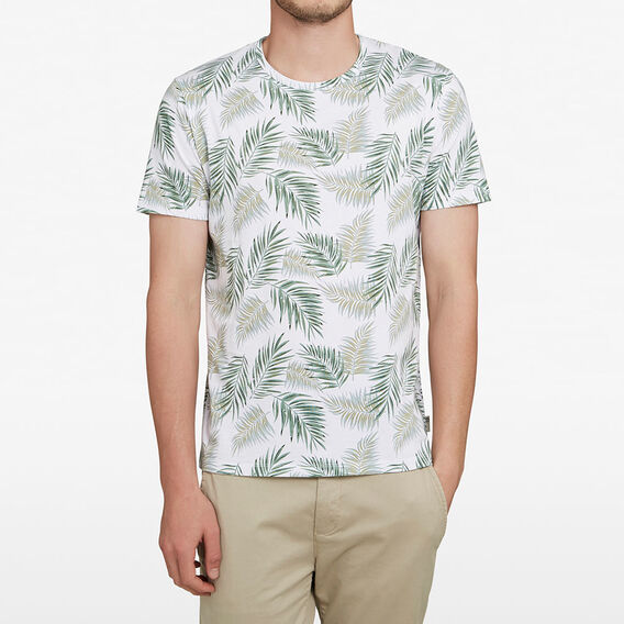 MINT LEAF T-SHIRT  WHITE  hi-res