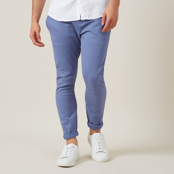 SLIM FIT STRETCH CHINO PANT  PACIFIC BLUE  hi-res