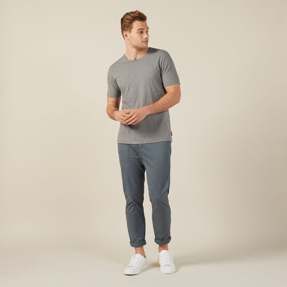 REGULAR FIT STRETCH CHINO PANT  DARK SAGE  hi-res