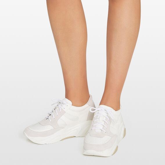 WHITE CHUNKY SNEAKER  WHITE  hi-res