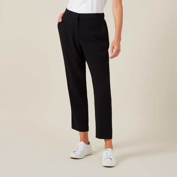 SOFT TAILORED PANT  BLACK  hi-res