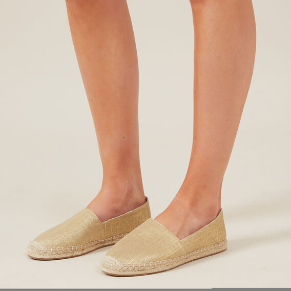 GOLD ESPADRILLE  GOLD  hi-res