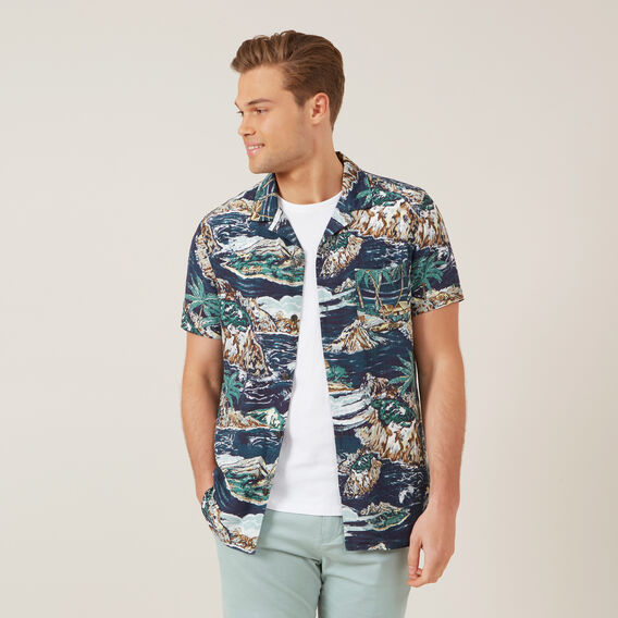 ISLANDS CLASSIC FIT SHIRT  MULTI  hi-res