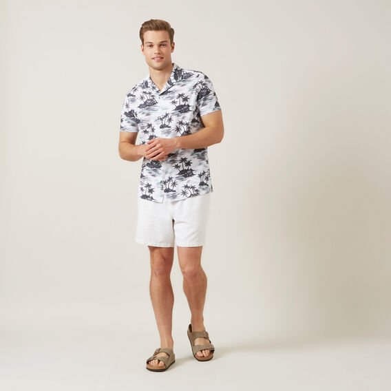 VINTAGE HAWAII CLASSIC FIT SHIRT  WHITE  hi-res