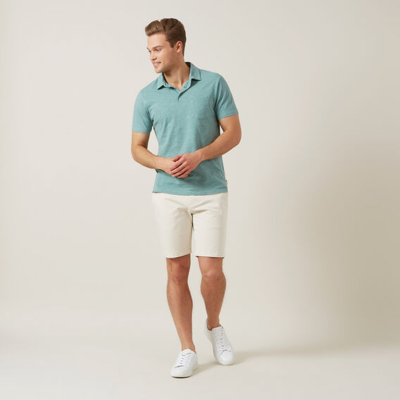 SNOW WASH SLUB POLO  SPEARMINT  hi-res