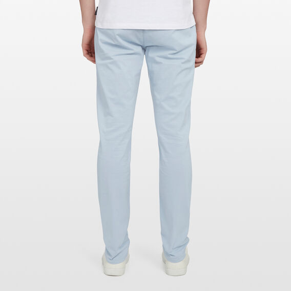 SLIM FIT STRETCH CHINO PANT  PALE BLUE  hi-res