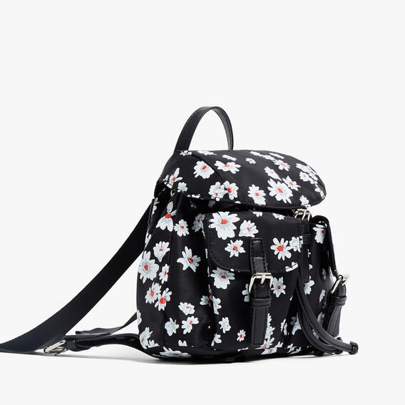 MINI DAISY BACKPACK  BLACK/MULTI  hi-res
