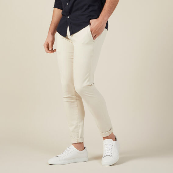 SLIM FIT CHINO PANT  SALT  hi-res