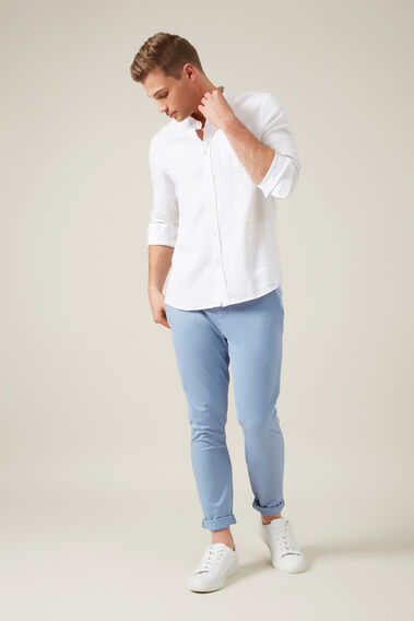 SLIM FIT CHINO PANT  POWDER BLUE  hi-res