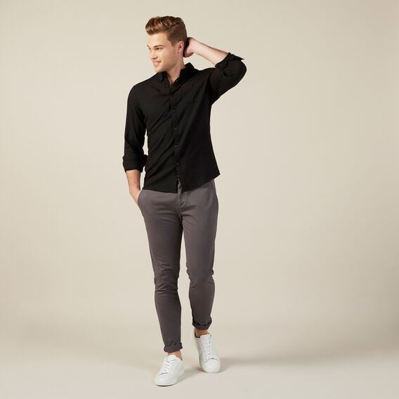 SLIM FIT CHINO PANT  CHARCOAL  hi-res