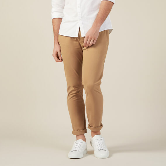 SLIM FIT CHINO PANT  TOBACCO  hi-res