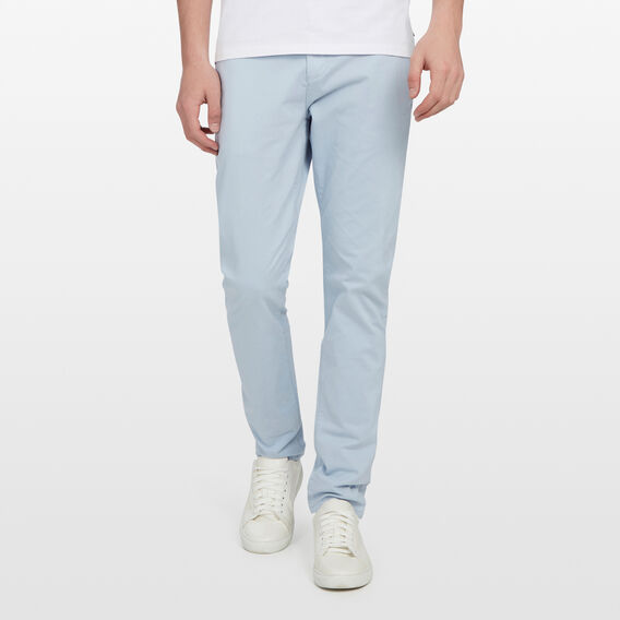 SLIM FIT CHINO PANT  PALE BLUE  hi-res