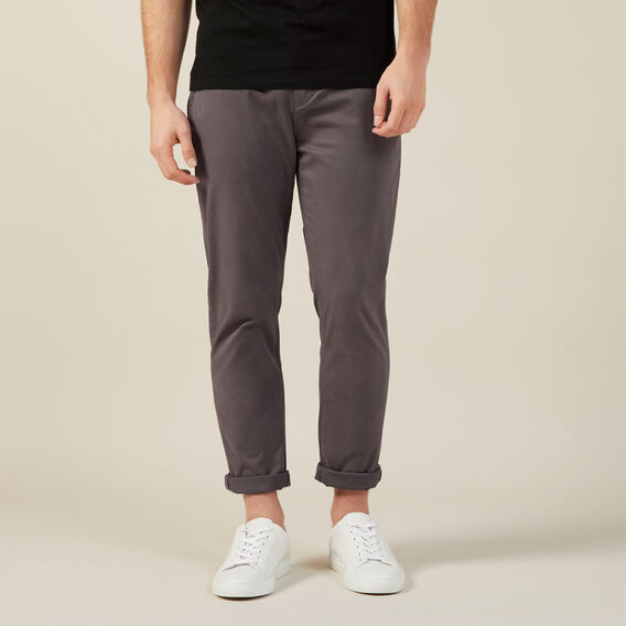 REGULAR FIT CHINO PANT  CHARCOAL  hi-res