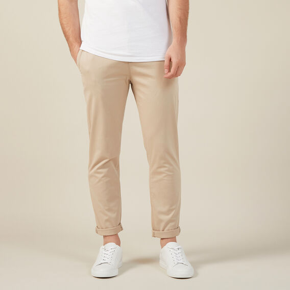 REGULAR FIT CHINO PANT  STONE  hi-res