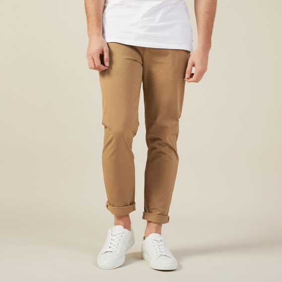 REGULAR FIT CHINO PANT  TOBACCO  hi-res