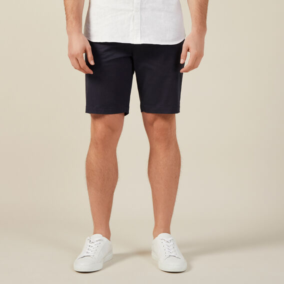 SLIM FIT CHINO SHORT  MIDNIGHT  hi-res