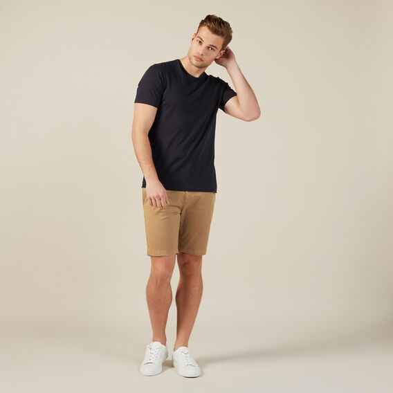 SLIM FIT CHINO SHORT  TOBACCO  hi-res