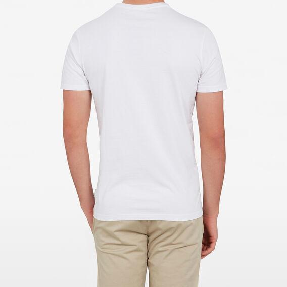 SLOGAN T-SHIRT  WHITE  hi-res