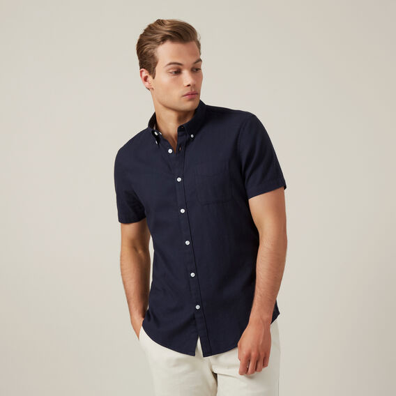 OXFORD SLIM FIT SHIRT  OXFORD BLUE  hi-res