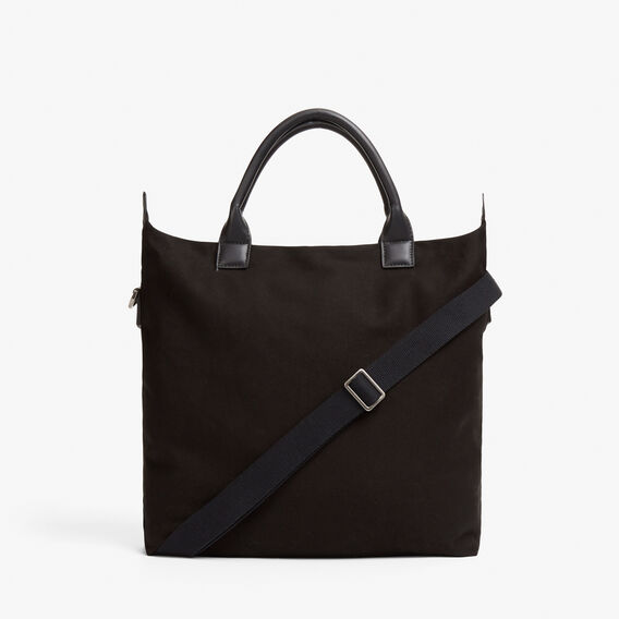 CANVAS TOTE BAG  BLACK  hi-res