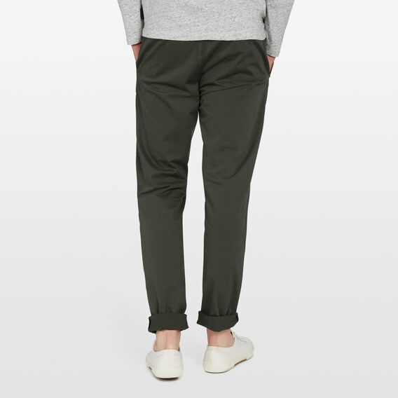 REGULAR FIT CHINO PANT  PINE GREEN  hi-res