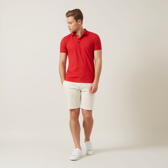 CLASSIC POLO  RED  hi-res